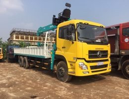 Công ty cho thuê xe cẩu thùng chất lượng, uy tín nhất Hải Phòng